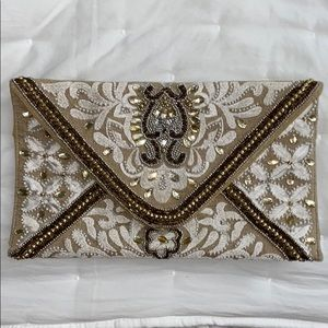 GORGEOUS beaded clutch